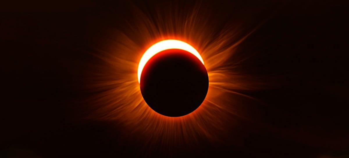 Veja fotos do eclipse lunar que aconteceu nessa segunda-feira 14