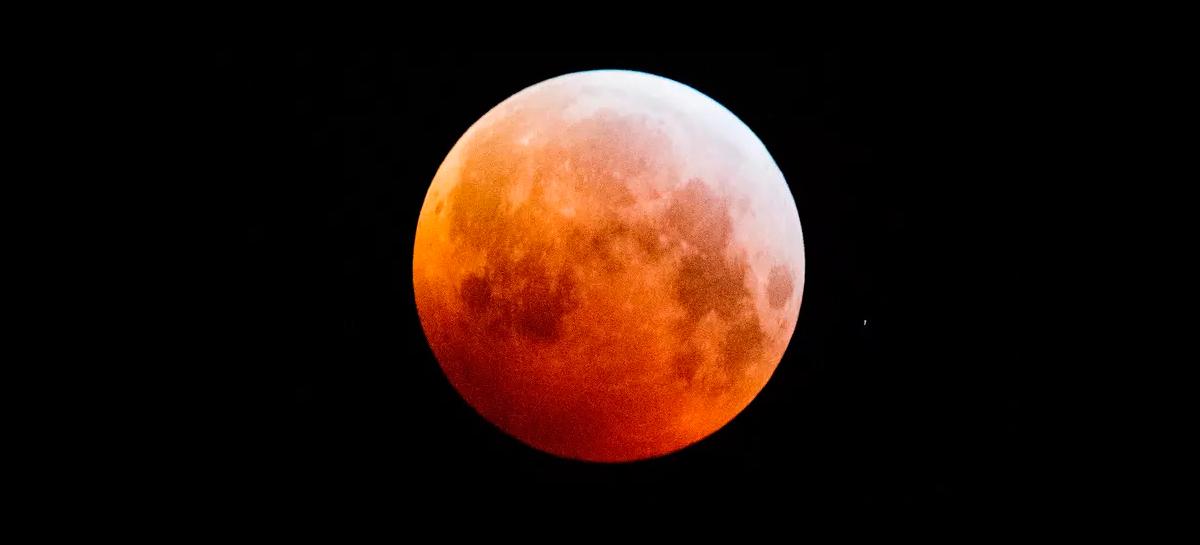 Eclipse lunar e superlua acontecem nesta quarta e podem ser observados do Brasil