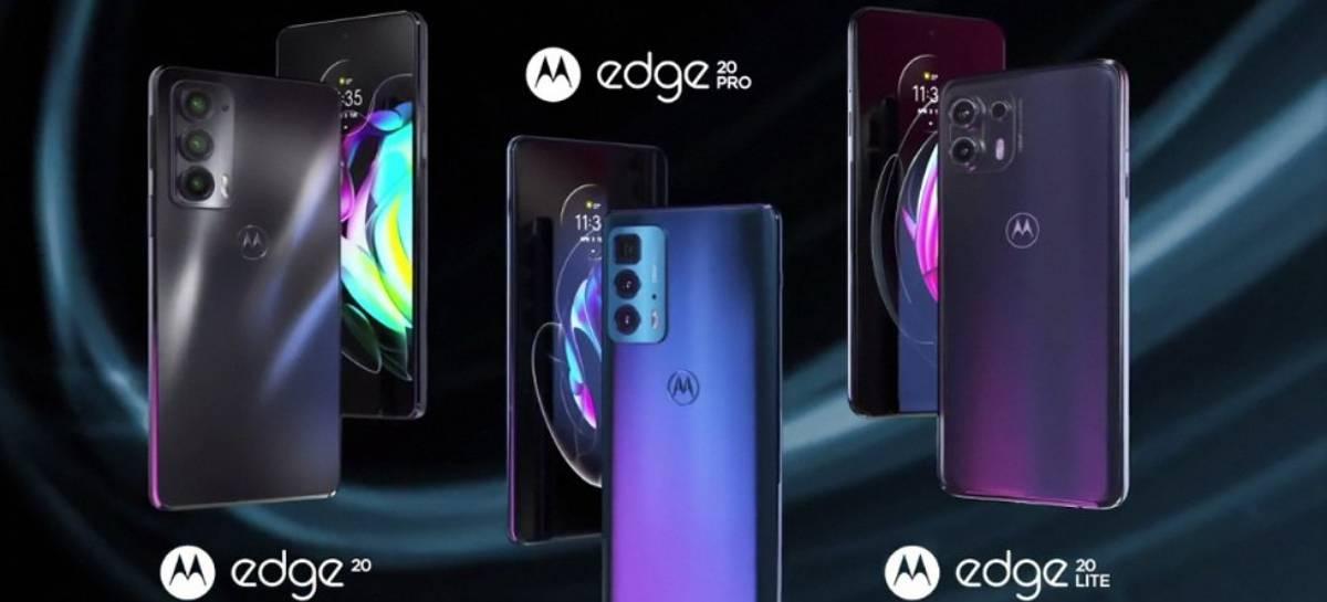 Motorola lança Edge 20, Edge 20 Lite e Edge 20 Pro no Brasil a partir de R$ 2.999