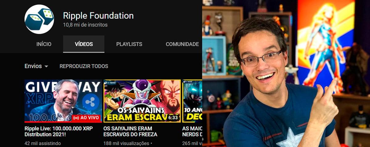 Canal Ei Nerd, com mais de 10 milhões de inscritos, é hackeado no YouTube