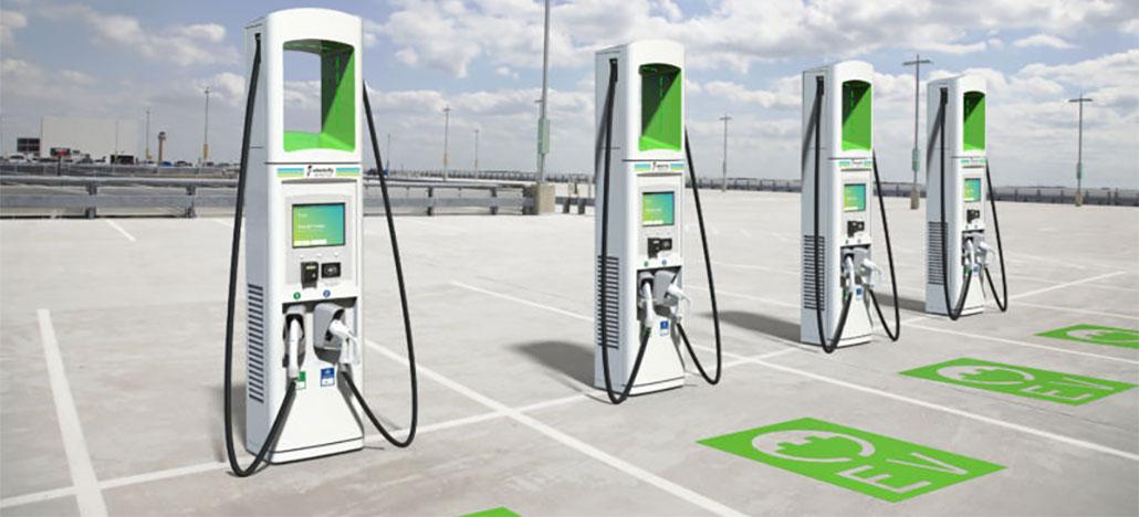 Electrify America vai instalar 2 mil fast chargers para carros até o final de 2019
