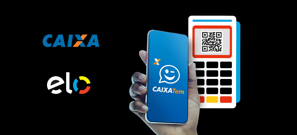 Elo e Caixa dão R$ 10 de bônus para celular nas compras realizadas com QR Code