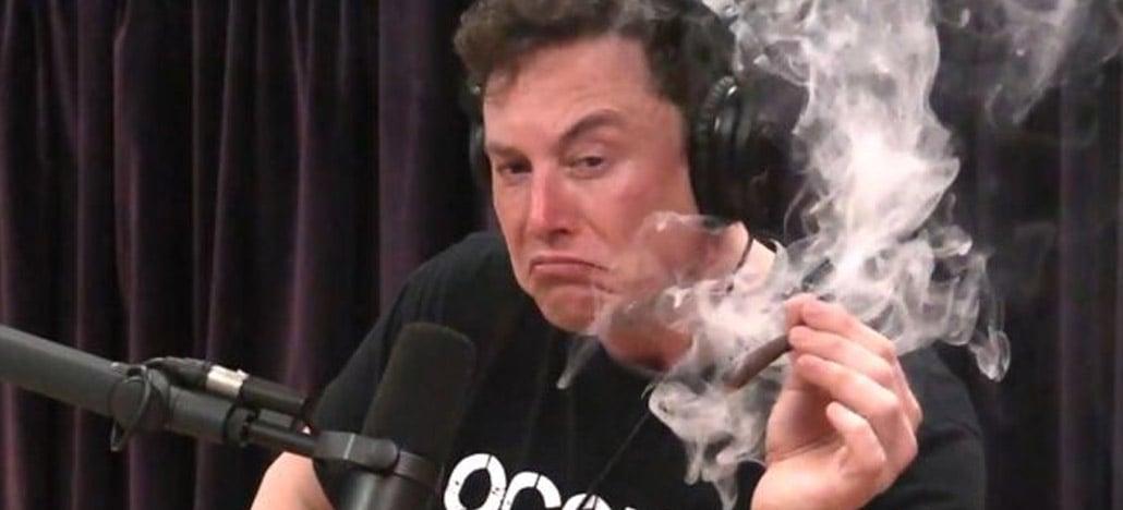 Ações da Tesla chegam a U$420 e Elon Musk faz piada sobre maconha
