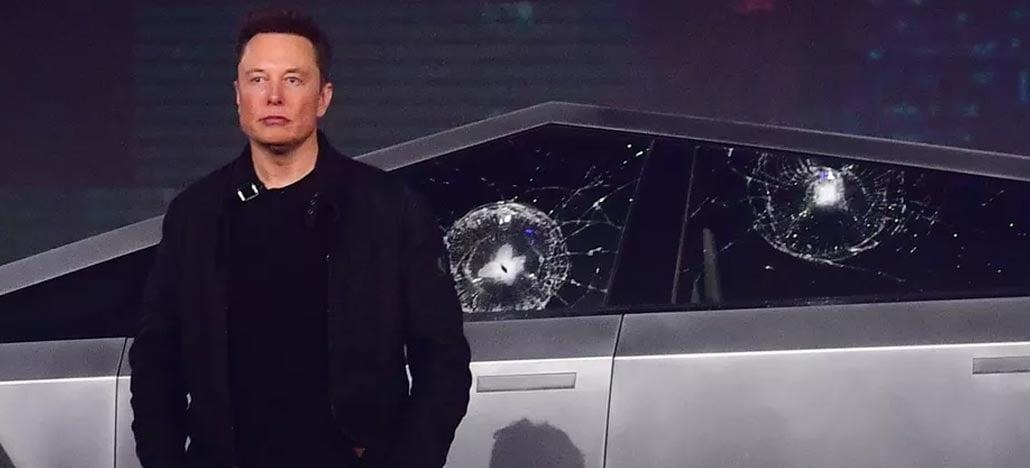 Elon Musk explica por que o vidro do Cybertruck quebrou na apresentação