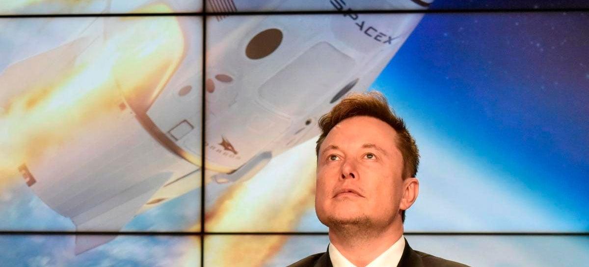SpaceX deve começar missões para Marte em 2022, diz Elon Musk