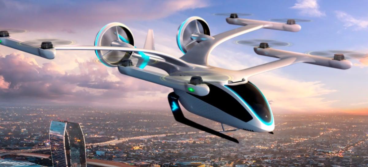 Brasileira Embraer apresenta super drone para transporte pessoal