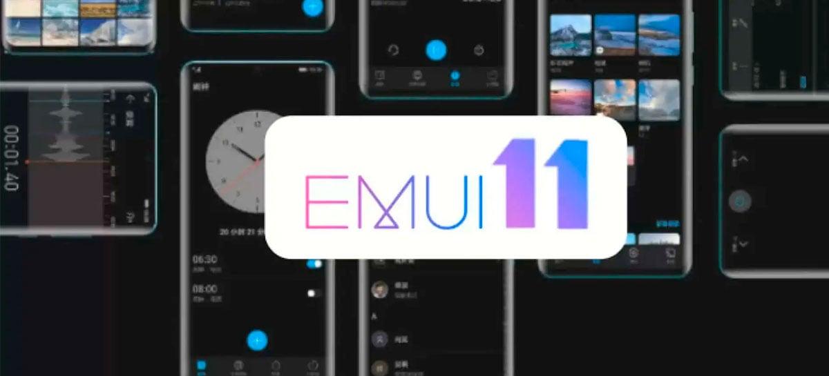 Huawei está distribuindo versões estáveis da EMUI 11, última atualização do Android