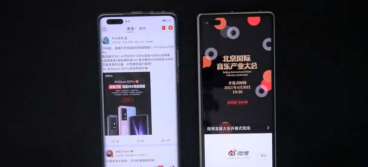 Vídeo compara HarmonyOS e EMUI 11 , ambos baseados em Android