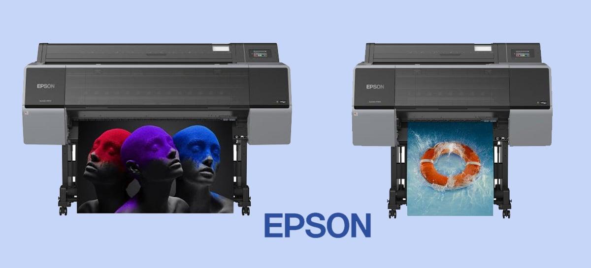 Epson lança última geração de impressoras para fotografia profissional, prova de cor e design gráfico