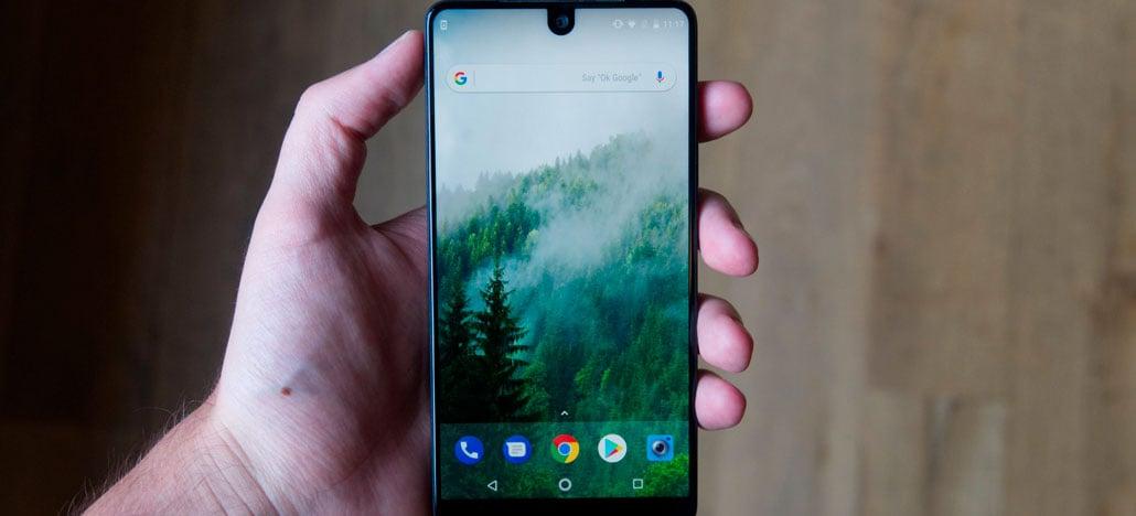 Próximo Essential Phone pode vir sem notch e com novo design de câmera frontal
