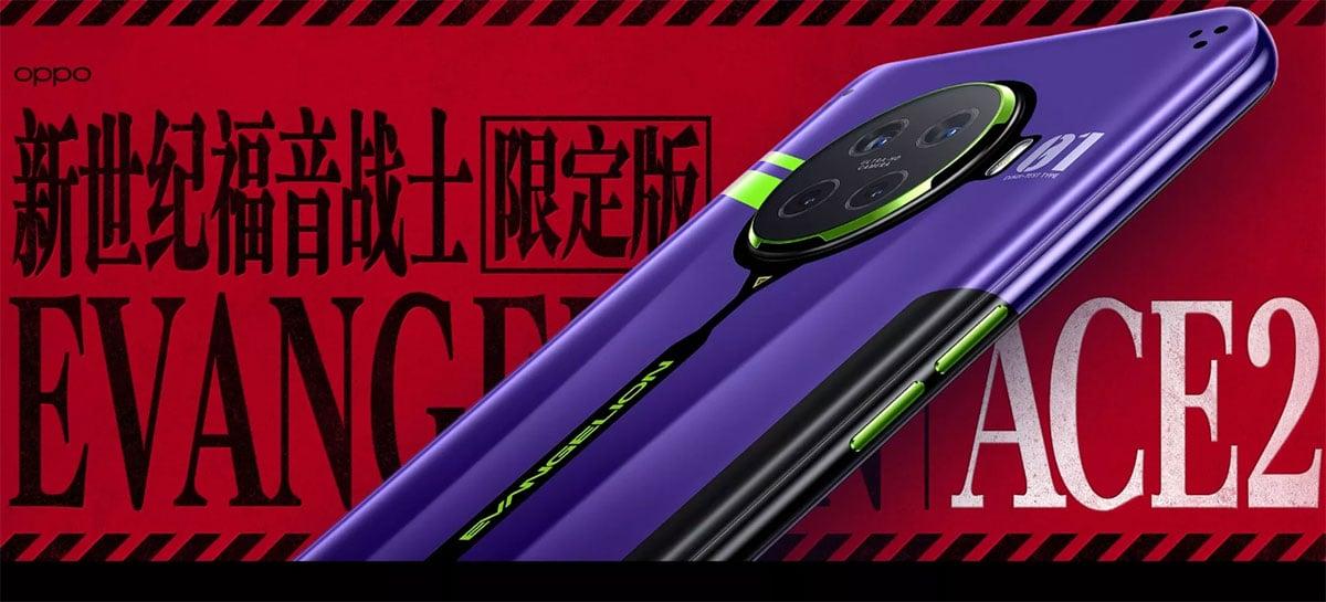 Oppo lança edição limitada de smartphone com tema de Evangelion