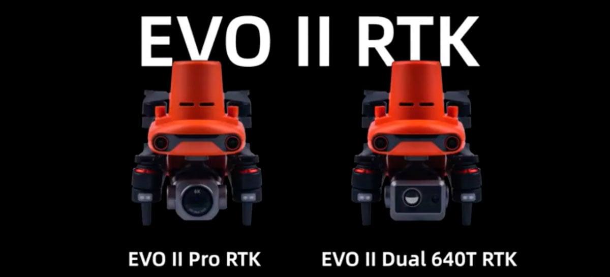 Autel deve lançar drones Evo 2 Pro RTK e Dual RTK em breve