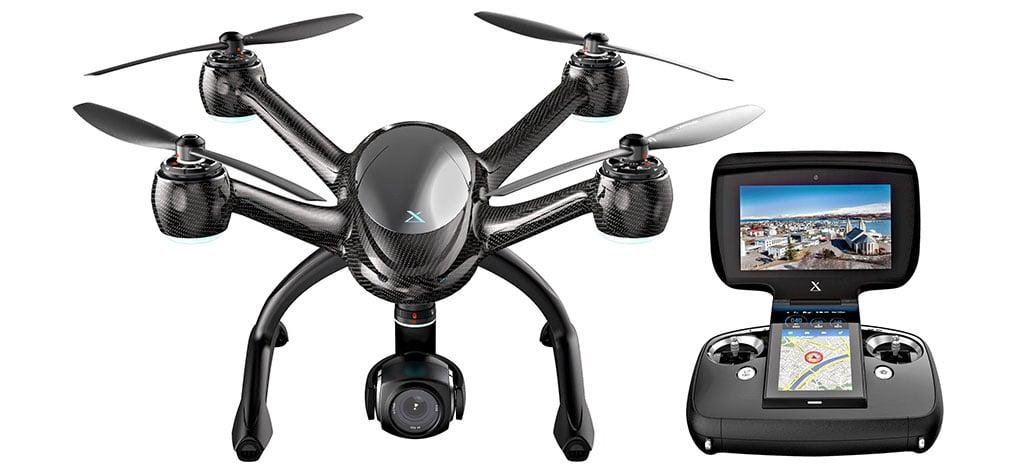 Drone profissional XDynamics Evolve traz corpo em fibra de carbono e specs de ponta