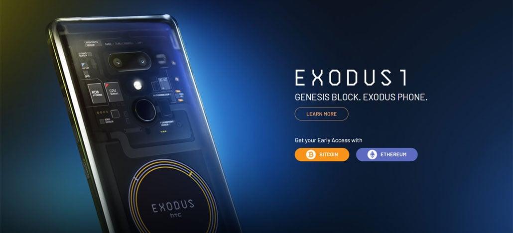 HTC Exodus 1 é o smartphone blockchain que só pode ser comprado com criptomoedas