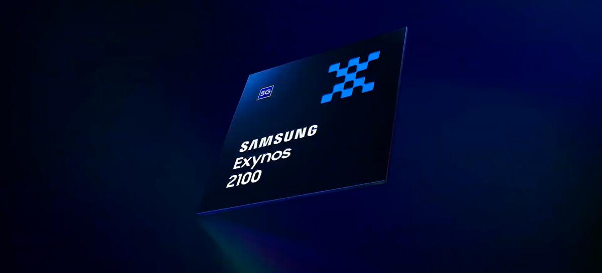 Samsung lança o Exynos 2100, chip rival do Snapdragon 888 e que estará no S21