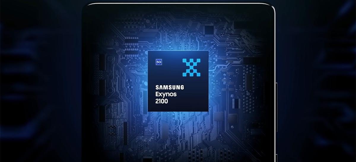 Com Exynos 2200, vaza primeiro teste de benchmark do Samsung Galaxy S22