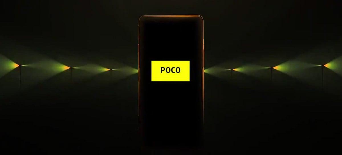 Novo teaser do Poco F3 GT indica que o lançamento do celular está cada vez mais perto