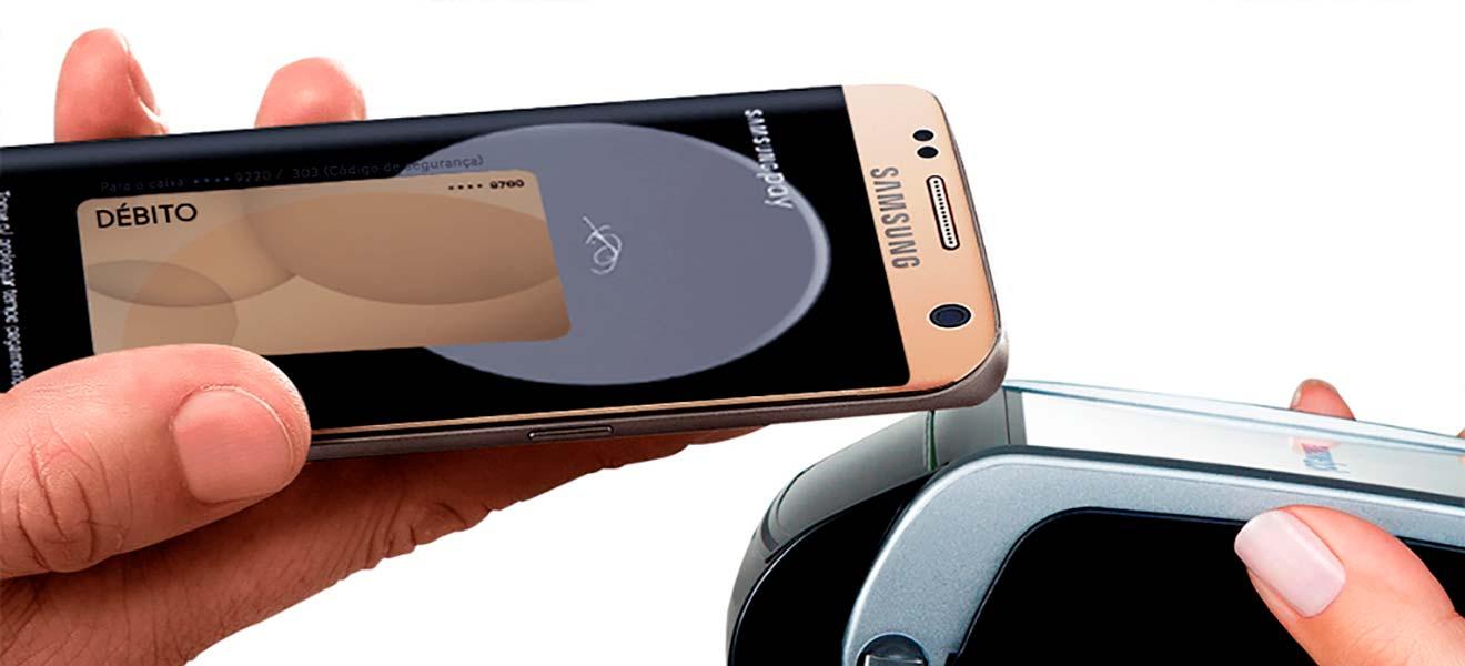 Como eu pago compras com meu smartphone?