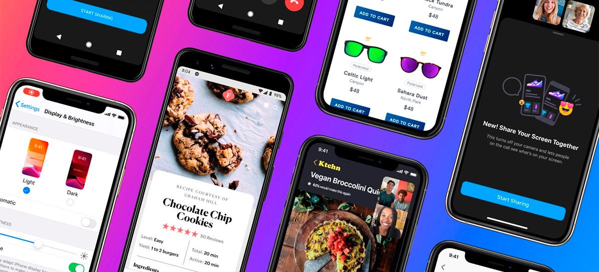 Facebook Messenger começa a permitir compartilhar a sua tela em dispositivos móveis