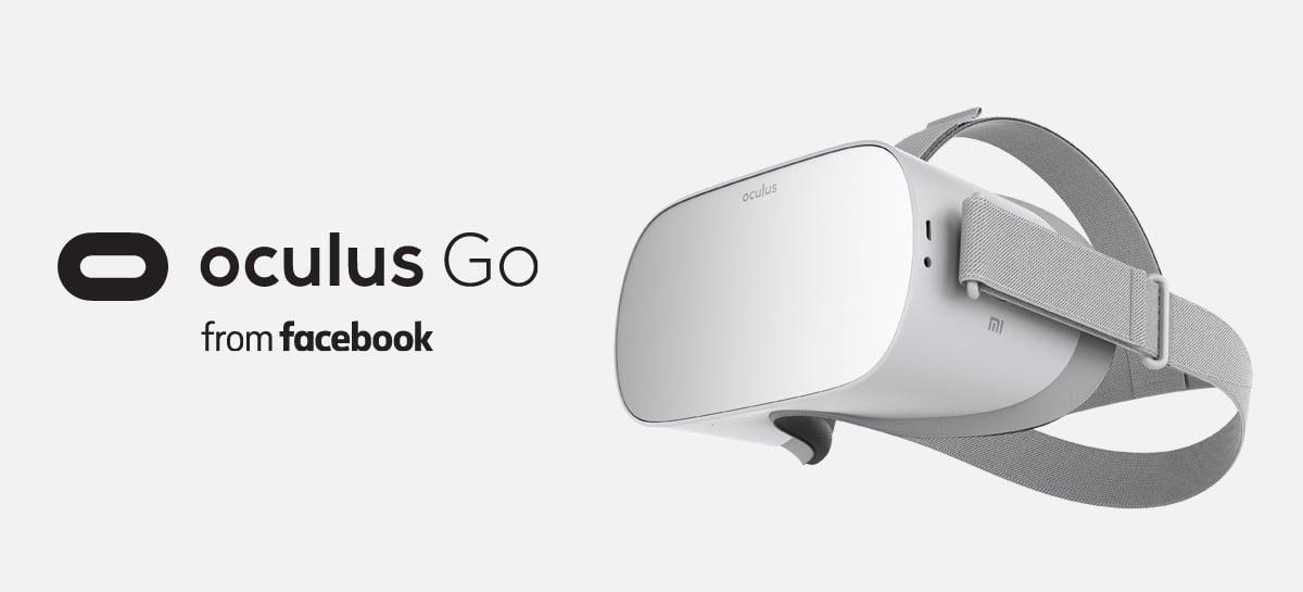 Facebook descontinua o Oculus Go, seu headset de realidade virtual mais barato