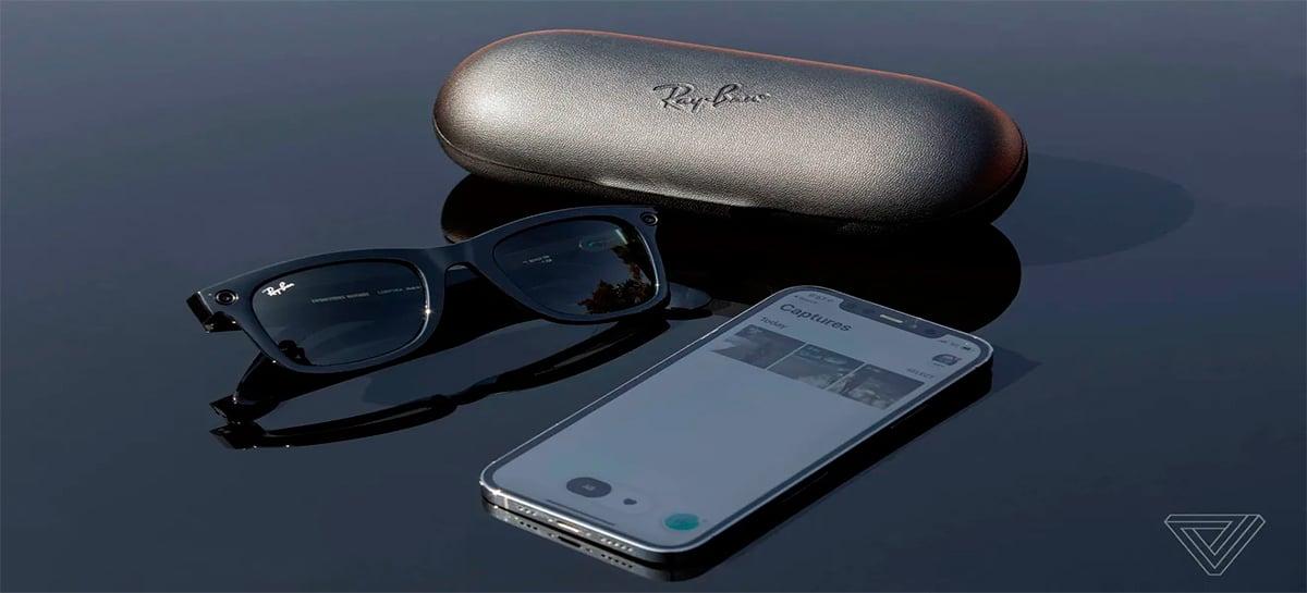 Em parceria com a Ray-Ban, Facebook lança óculos de sol que grava vídeos