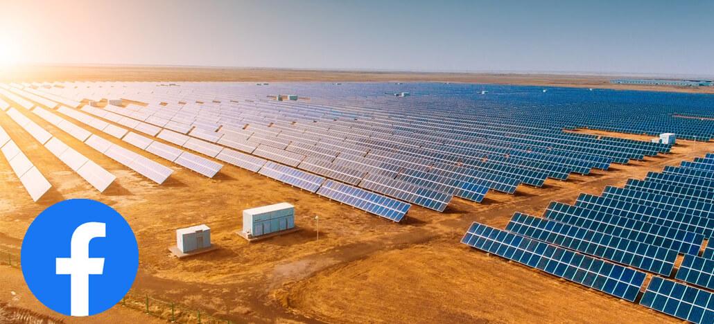 Facebook faz grande investimento direto na construção de fazenda solar no Texas