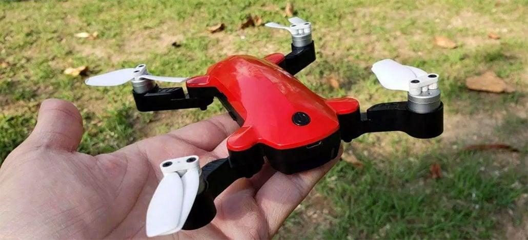Simtoo faz campanha no Kickstarter do Fairy Drone, modelo pequeno e dobrável