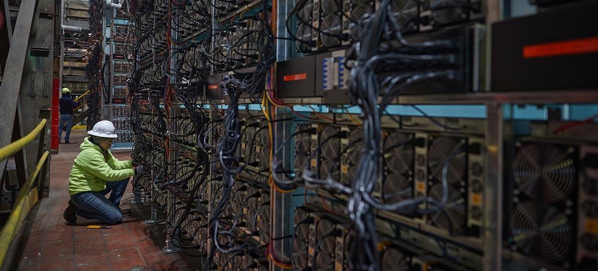 Fazenda de mineração de bitcoin faz aquecer lago em Nova York