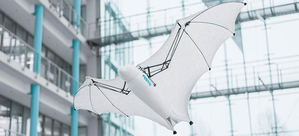 Festo Bionic apresenta drone Flying Fox com formato de morcego