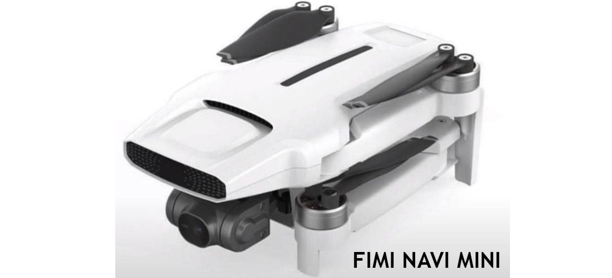 Drone FIMI NAVI Mini está chegando para concorrer com linha Mini da DJI