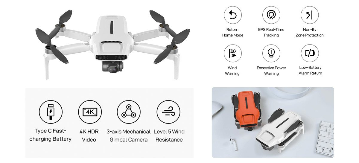 OFICIAL: Drone FIMI X8 Mini chega dia 6 de abril - Veja especificações completas