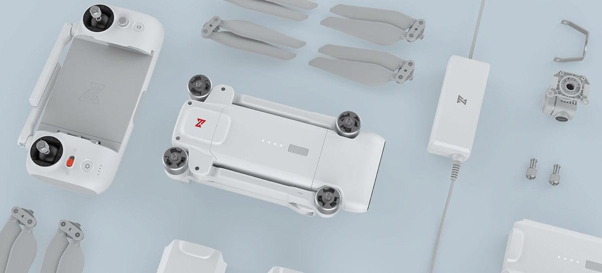 Drone FIMI X8 SE (2020): gravação em 4K, 35 min de voo, GPS e até 8Km por R$2.560