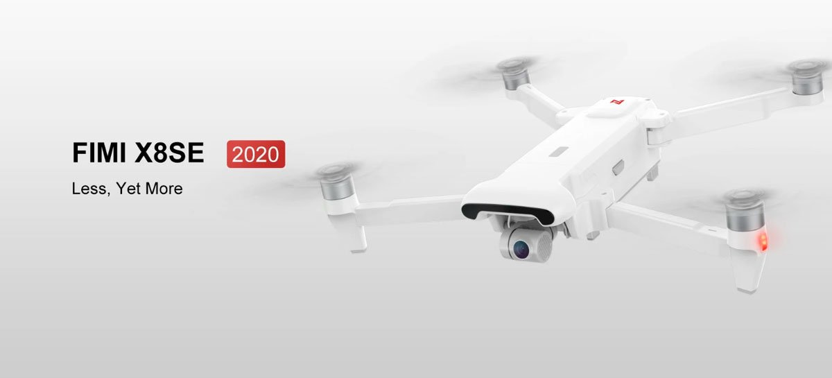 Novo drone FIMI X8 SE (2020) tem 35 min de autonomia, voa até 8KM por US$350 em promoção