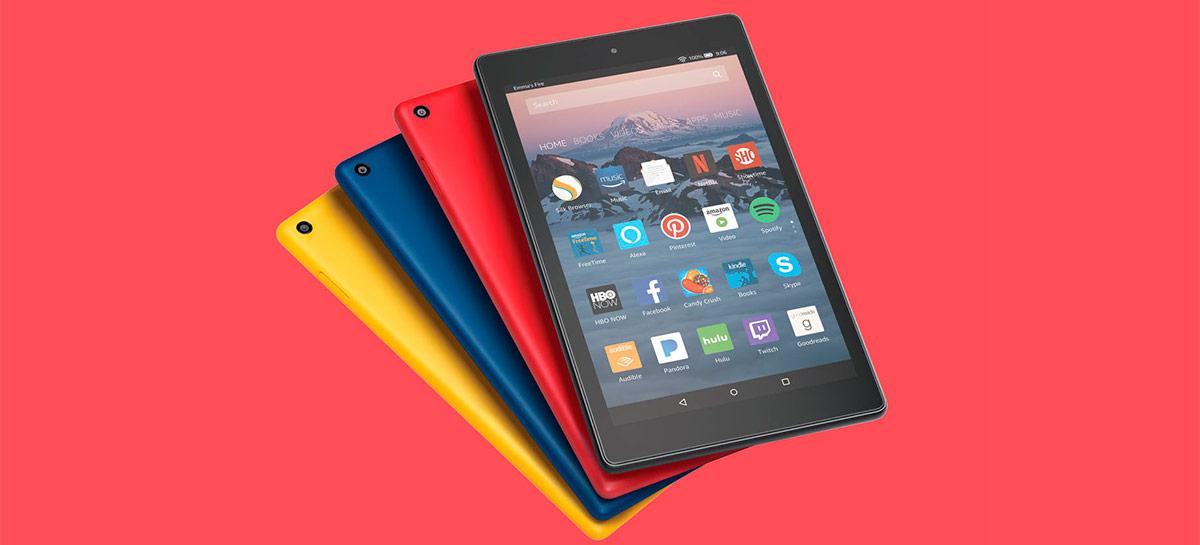 Programador consegue colocar o Android 10 no Amazon Fire HD 8 usando LineageOS 17.1