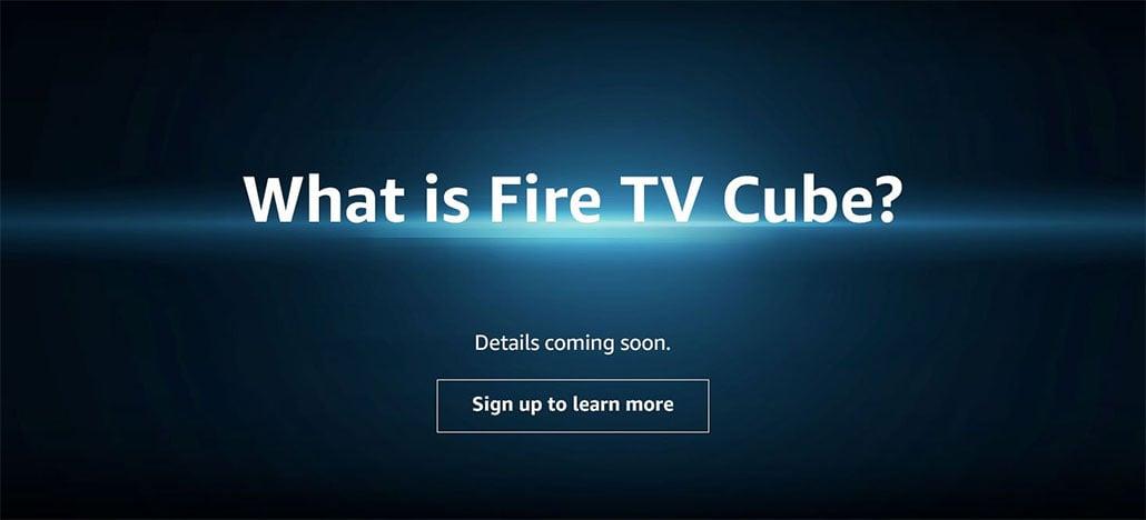 Amazon faz anúncio misterioso de Fire TV Cube