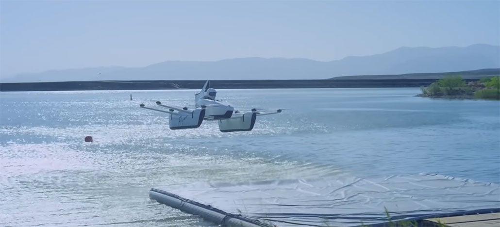 Você só precisa de uma hora de treino para pilotar Flyer, o carro voador