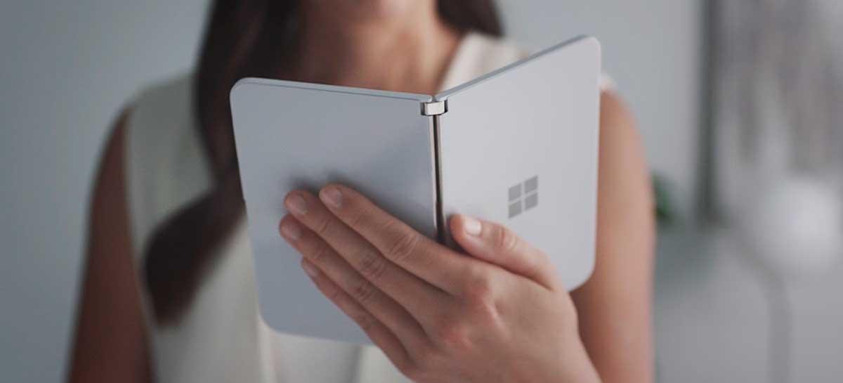 "Vídeo vazado do Surface Duo revela recurso inédito chamado ""Peek"""