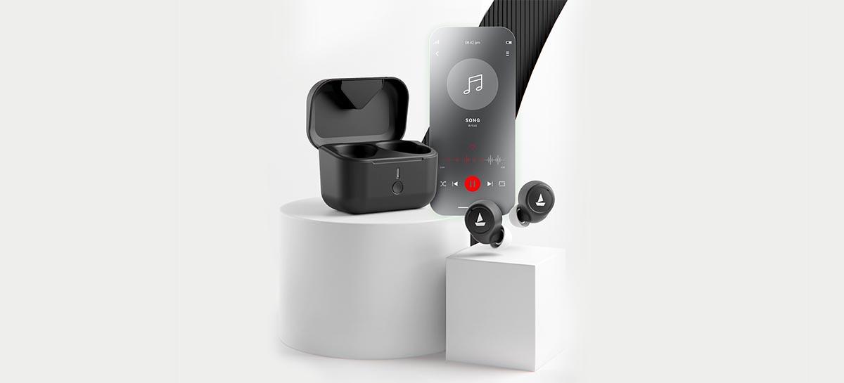 Fone de ouvido wireless BoAt Airdopes 501 tem ANC e Bluetooth 5.2