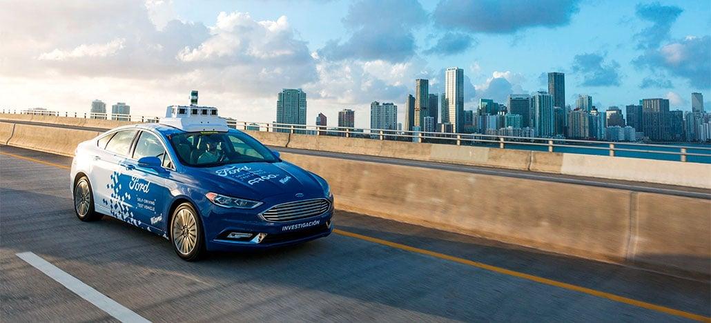 Ford começa a testar seus carros autônomos nas ruas de Miami, nos EUA