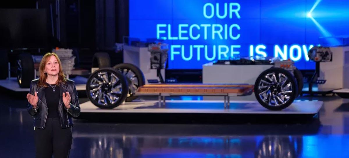GM apresenta plataforma de carros elétricos para competir com a Tesla