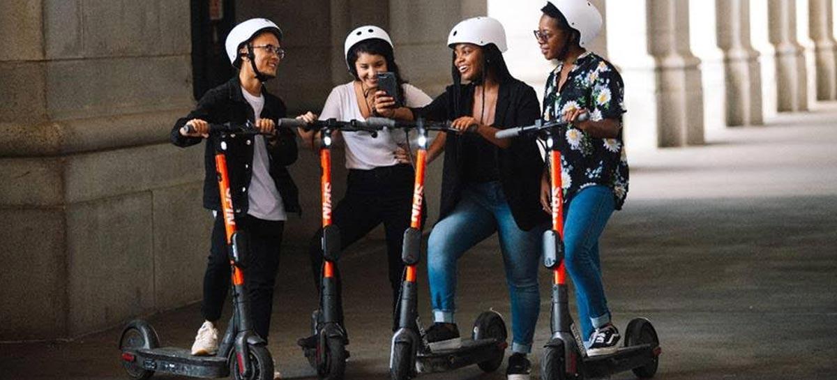 Spin, empresa de patinetes elétricos da Ford, chega à Europa