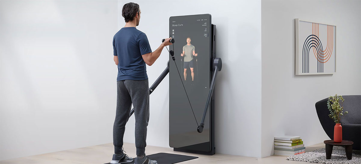 Espelho inteligente Forme Life é a nova solução para se exercitar na quarentena