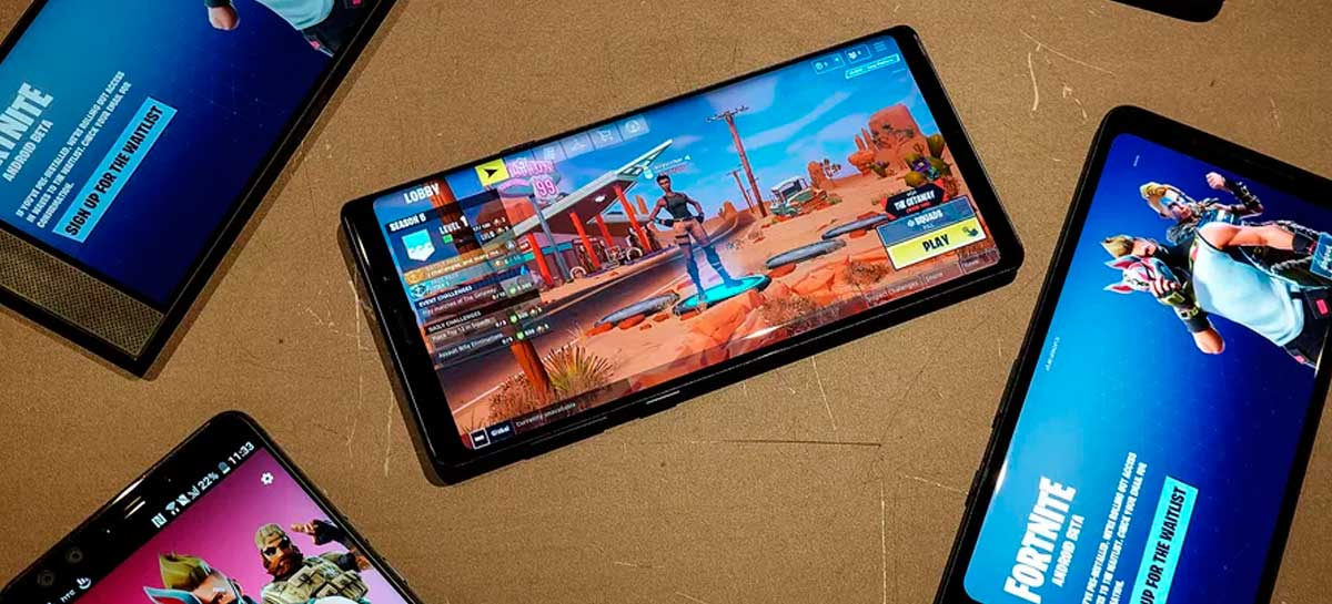 Fortnite é expulso da Play Store e Epic abre processo contra Apple e Google