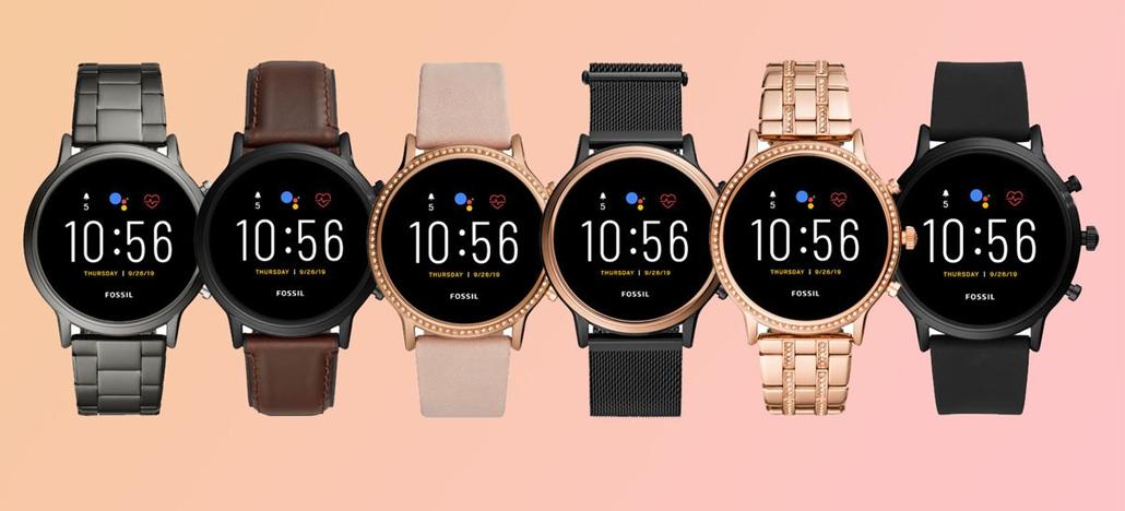 Fossil anuncia smartwatches Gen 5 com Snapdragon Wear 3100, 1GB de RAM e mais