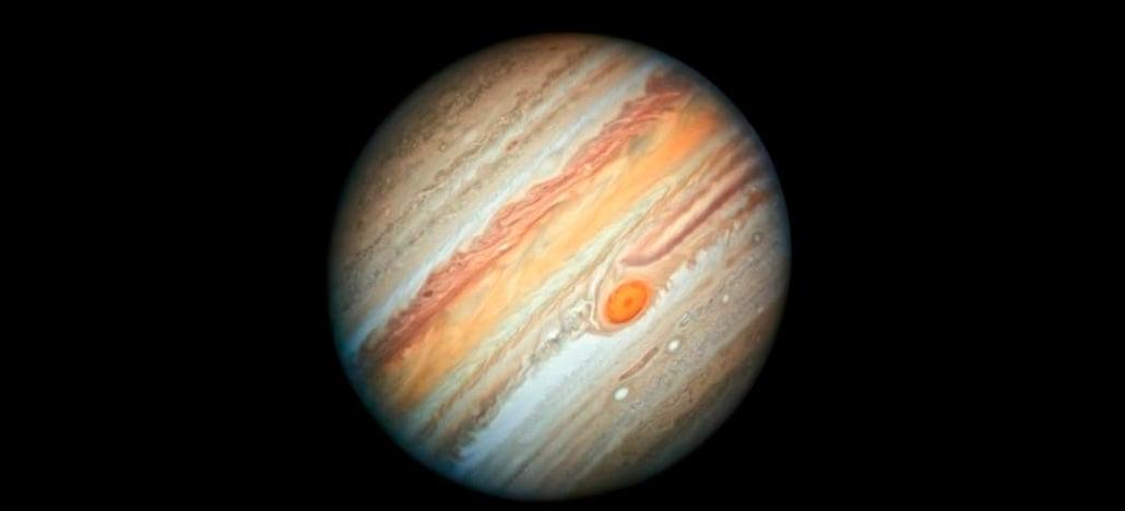 NASA divulga foto de Júpiter feita pelo satélite Hubble e é a melhor já captada na história