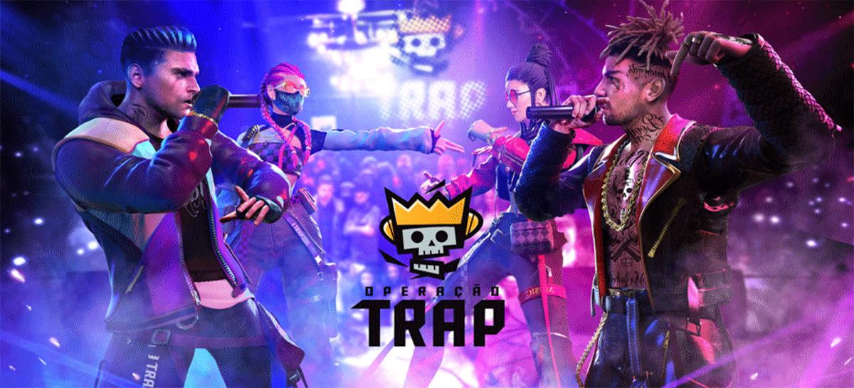 Garena lança grupo musical T.R.A.P. com personagens de Free Fire