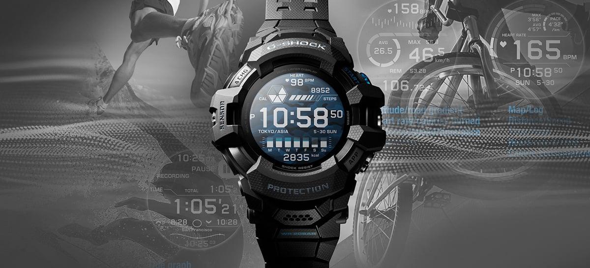 Casio anuncia smartwatch da linha G-Shock com sistema Google Wear OS