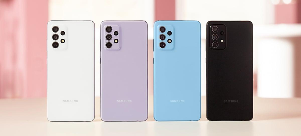 Galaxy A52 e Galaxy A72 melhoram câmeras e telas, ambos com Snapdragon 720G
