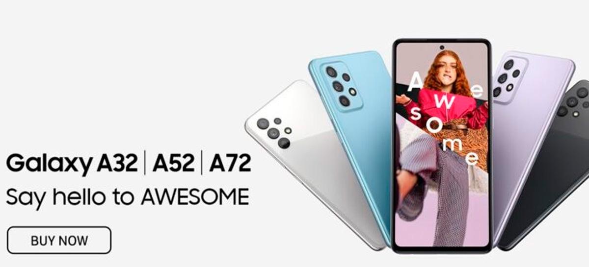 Samsung Galaxy A52 e A72: especificações vazam antes do anúncio oficial