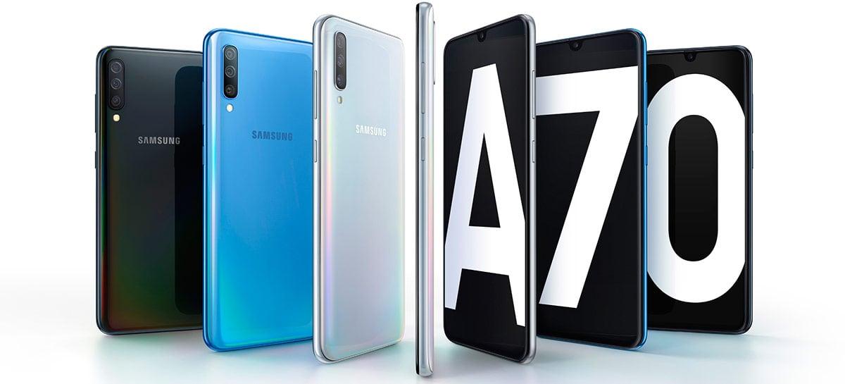 """Updates de abril para o Galaxy A70 e Galaxy M31 estão """"brickando"""" aparelhos"""